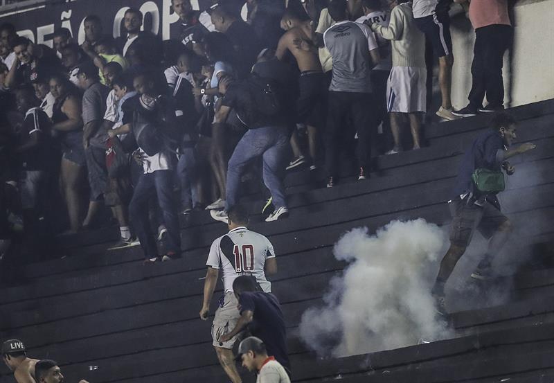 O retrato da violência no futebol