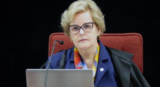 Ministra Rosa Weber rejeita questionamento sobre a intervenção federal do Rio de Janeiro