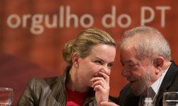 Gleisi Hoffmann e o ex-presidente Luiz Inácio Lula da Silva forma denunciados ao STF pela PGR