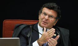 Presidente do TSE, Luiz Fux