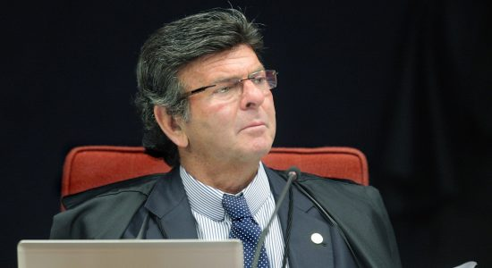 Ministro Luiz Fux, do STF