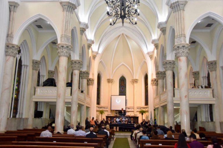 Aniversário da Academia Evangélica de Letras do Brasil