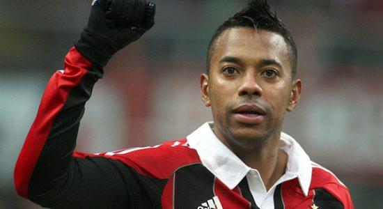 Caso aconteceu em 2013, quando Robinho ainda defendia o Milan