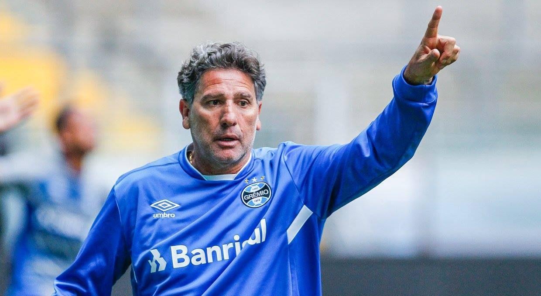 Renato Gaúcho é cotado para ser o próximo treinador do Flamengo
