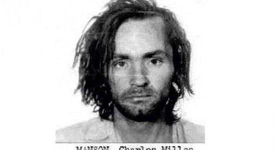 Charles Manson na época de sua prisão