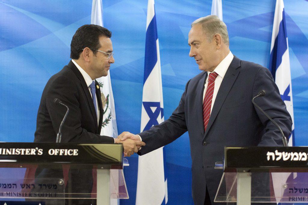 Israel acredita que mais países seguirão Guatemala e EUA