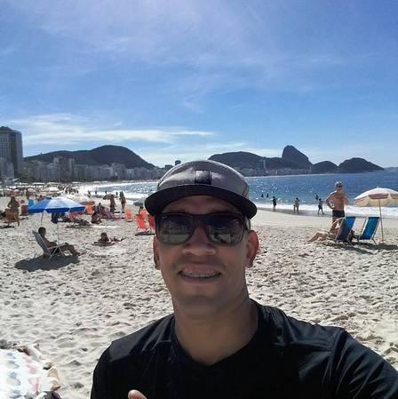 Imagens mostram suspeito de assassinar ambulante em Copacabana