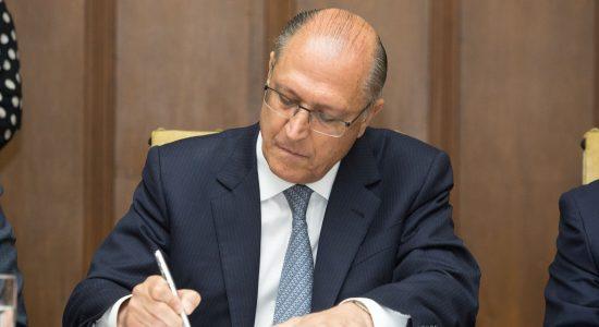 Geraldo Alckmin diz que terá tolerância zero com a corrupção