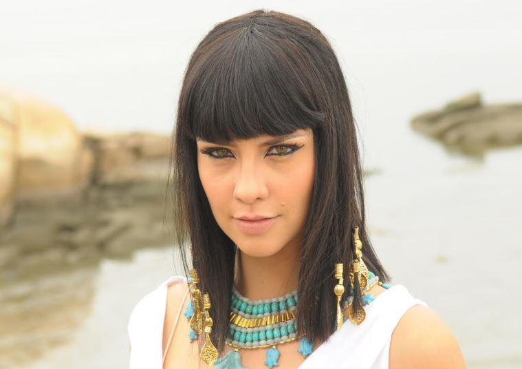 Camila Rodrigues também passou por transformação em Os Dez Mandamentos