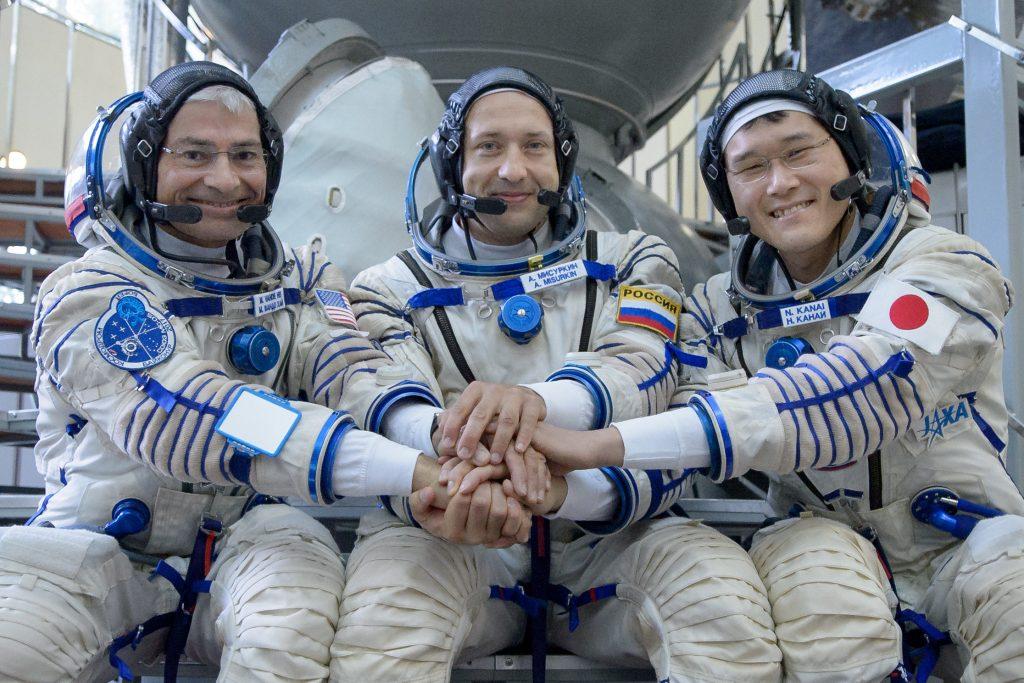 Astronauta japonês nega ter crescido 9 centímetros e pede desculpas pelo erro