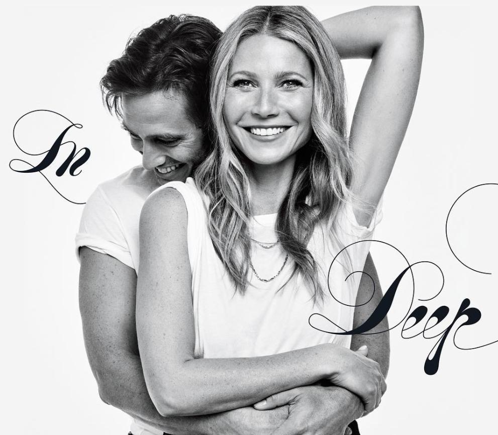 Gwyneth Paltrow confirma noivado em foto agarradinha a Brad Falchuk