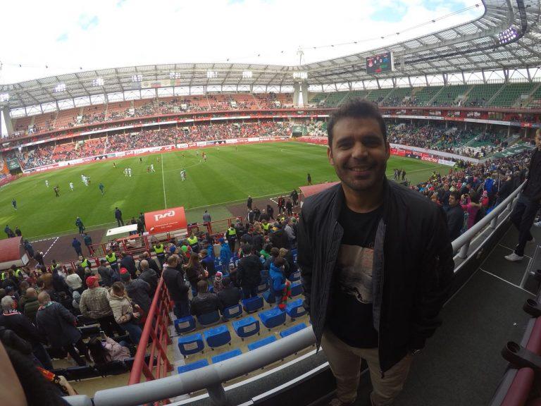 Richard Souza visitou todos os estádios da Copa