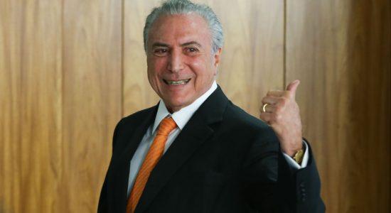 Em pronunciamento, presidente Michel Temer afirmou que o acordo de intervenção federal foi construído com o governador do Rio, Luiz Fernando Pezão