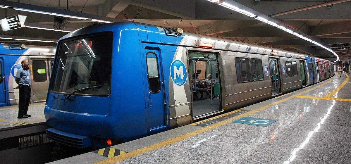 Metr do rio funciona por 24 horas em dias de carnaval for Do metro trains have bathrooms