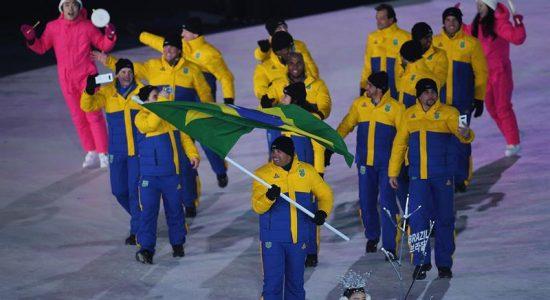 Delegação brasileira vai se vacinar para as Olimpíadas
