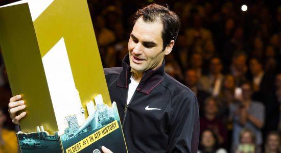 Roger Federer brilhou novamente e se consagrou como melhor tenista do mundo