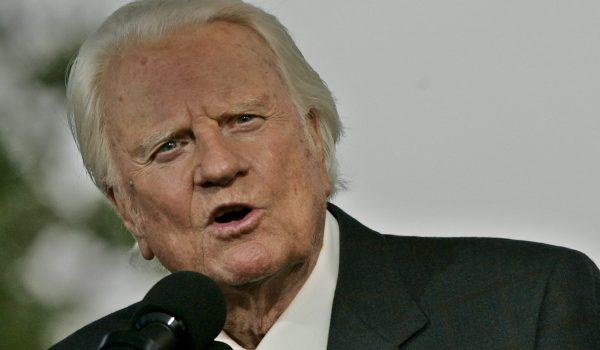 Billy Graham morreu aos 99 anos