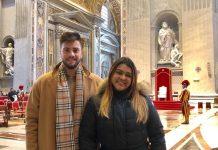 Rodrigo Godoy e Preta Gil estão viajando pela Itália