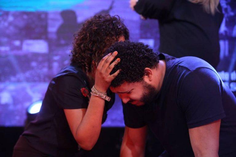 Oração para Israel Salazar, que está enfrentando um câncer