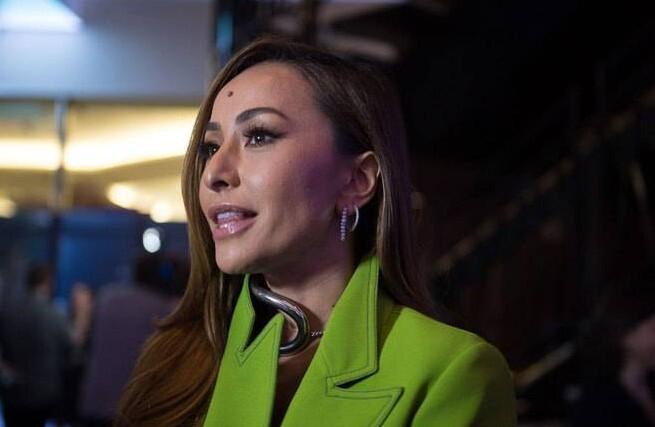 A apresentadora Sabrina Sato também compareceu ao evento