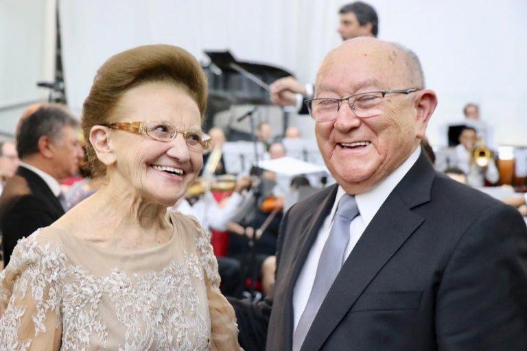 Wanda, esposa do pastor José Wellington, faleceu aos 84 anos