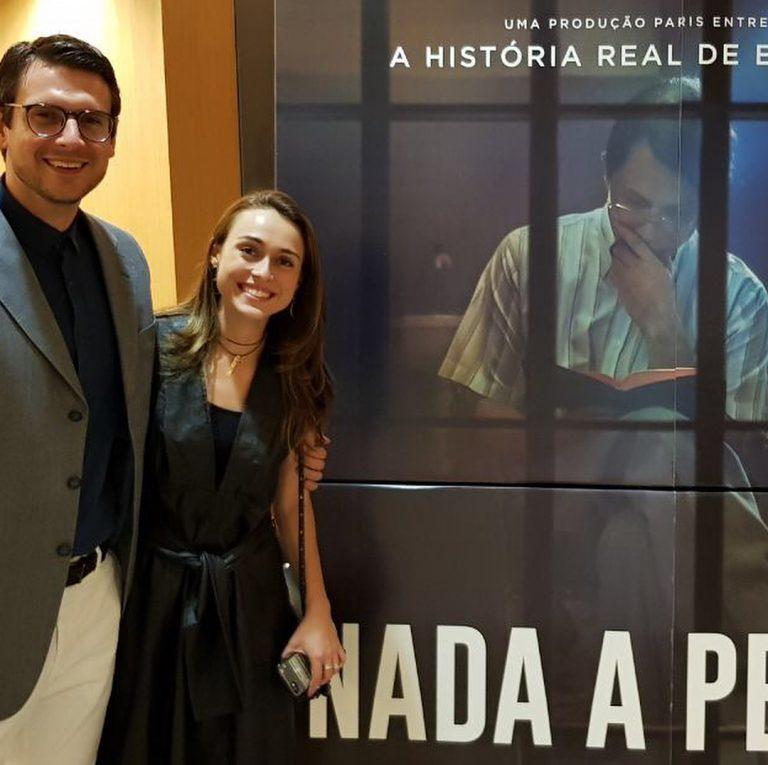 Marcelo Crivella Filho e a esposa Maressa