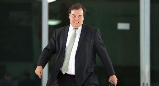 Ex-presidente da Câmara, Rodrigo Maia