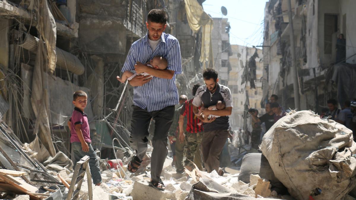 Resultado de imagem para guerra siria 2018