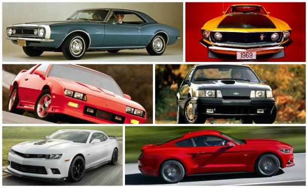 Fords vs Chevys