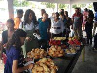 Venezuelanos participaram de café da manhã solidário em Boa Vista