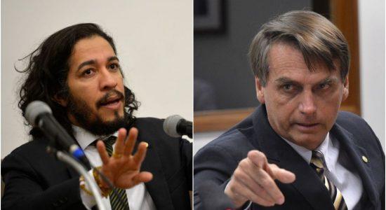 Ministro Celso de Mello, do STF, arquiva denúncia de Jean Wyllys contra Jair Bolsonaro