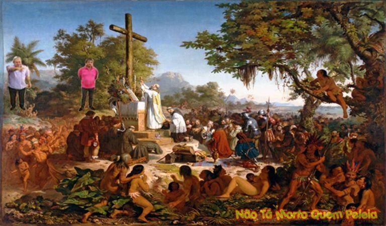 Primeira Missa no Brasil - Victor Meirelles