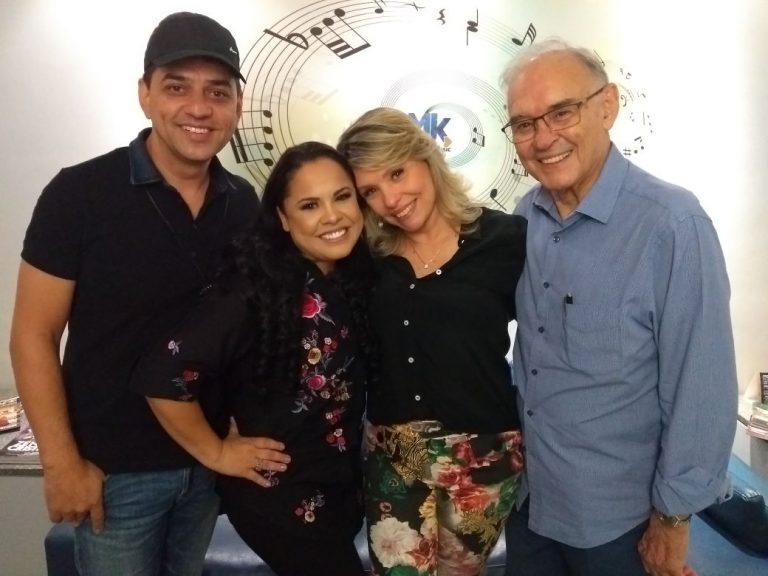 Jairo Manhães, Cassiane, Marina e Arolde de Oliveira