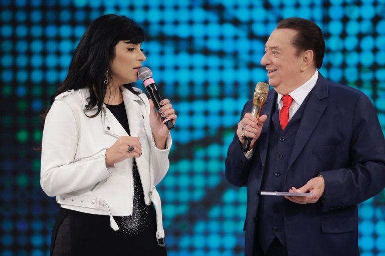 Fernanda Brum no Programa Raul Gil