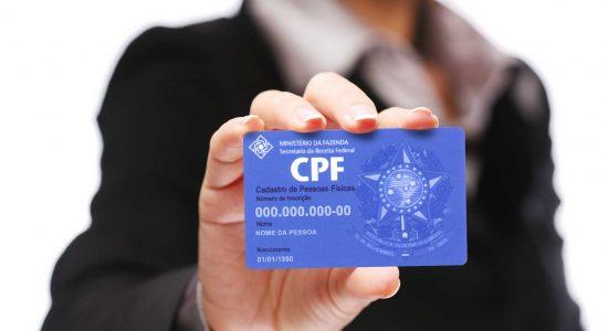 CPFs poderão virar o único número oficial de documentos
