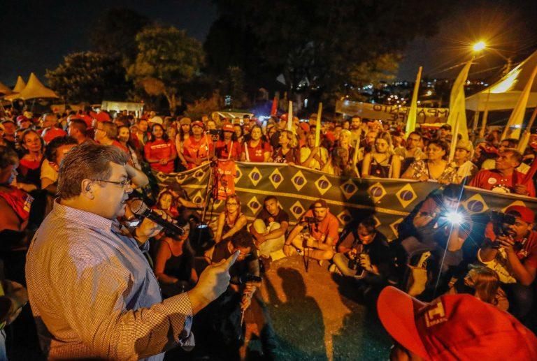 Apoiadores de Lula