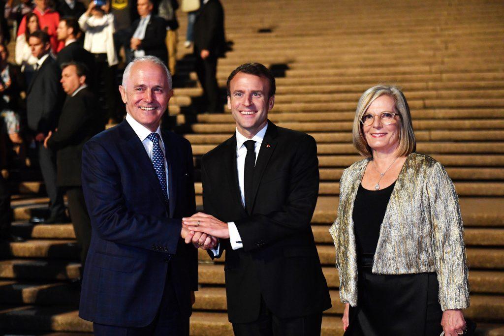 Macron chama mulher de premiê australiano de 'deliciosa'