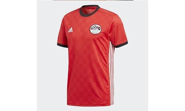 Camisa oficial da seleção do Egito