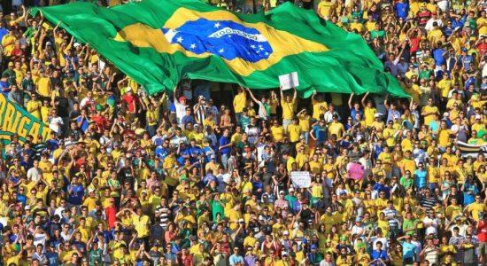 Torcida do Brasil na Copa do Mundo