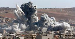 Pelo menos 22 civis morreram em função dos bombardeios em Deraa, na Síria
