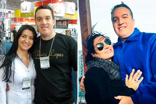Thiara Lopes e Maurício Borges