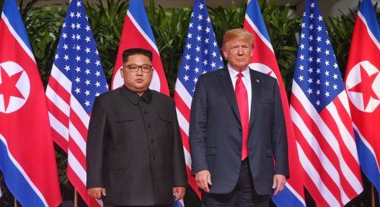 Encontro entre Kim Jong-un e Donald Trump