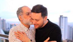 André Valadão com o pai, pastor Márcio Valadão