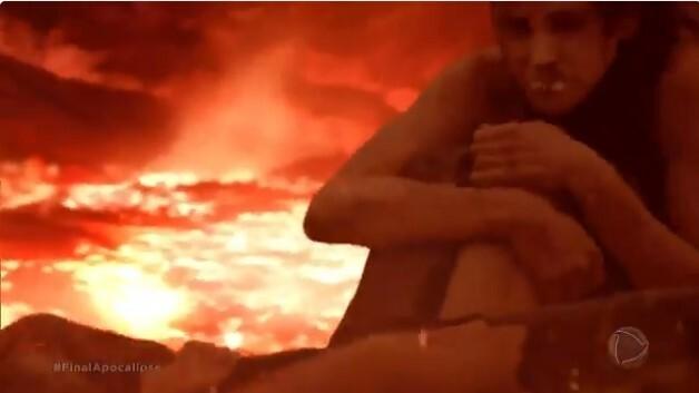 O inferno mostrou os que não acreditaram no Senhor