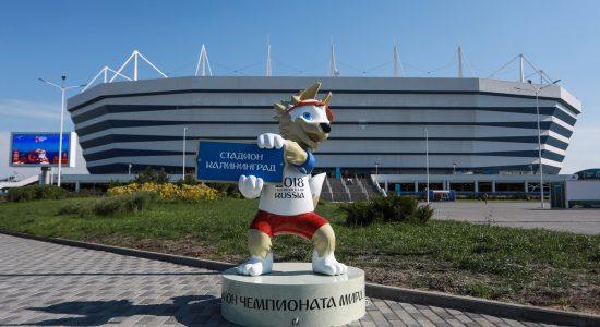 O mascote oficial da Copa do Mundo da Rússia