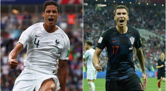 França e Croácia disputarão a final da Copa do Mundo