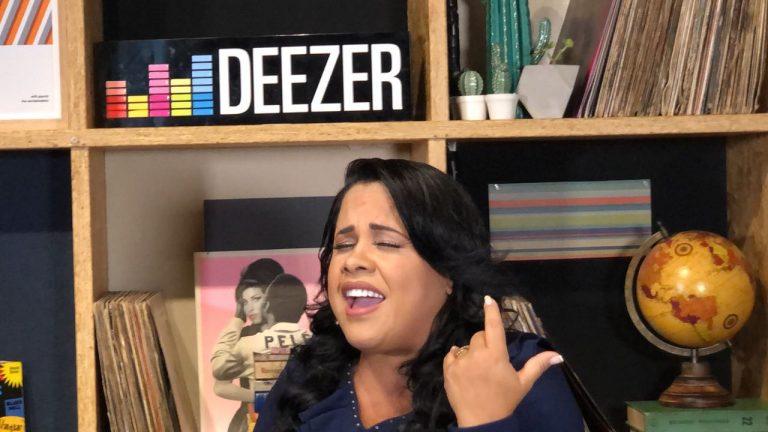 Cassiane foi entrevistada pela Deezer nesta terça-feira