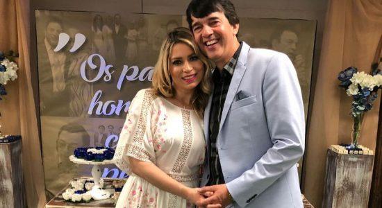 Elaine de Jesus e o marido, pastor Alexandre Silva