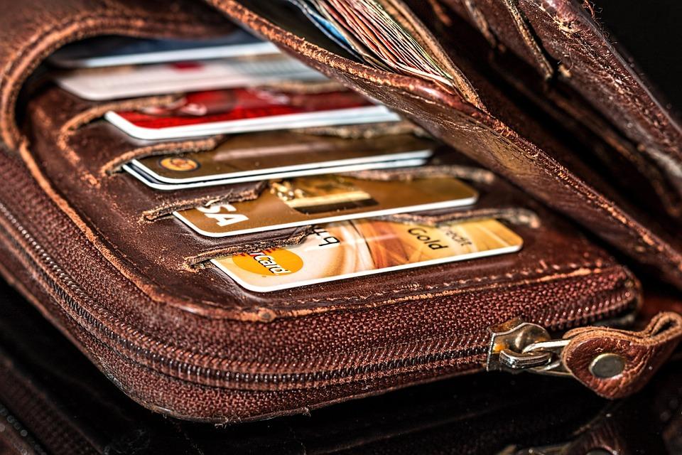 Cartão de crédito - carteira - compras