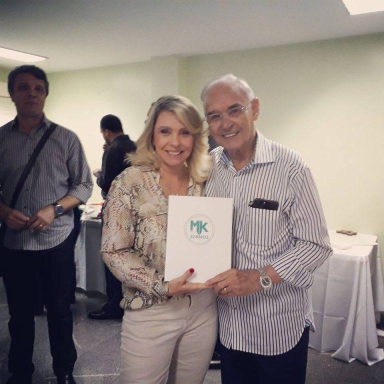 Comemoração dos 30 anos do grupo MK de Comunicação com livro que conta a história da empresa